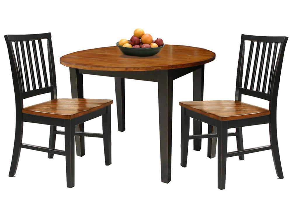 Arlington 3 Piece Dining Set With Two Drop Leavesintercon At Rooms For Less In 3 Piece Dining Sets (View 4 of 25)