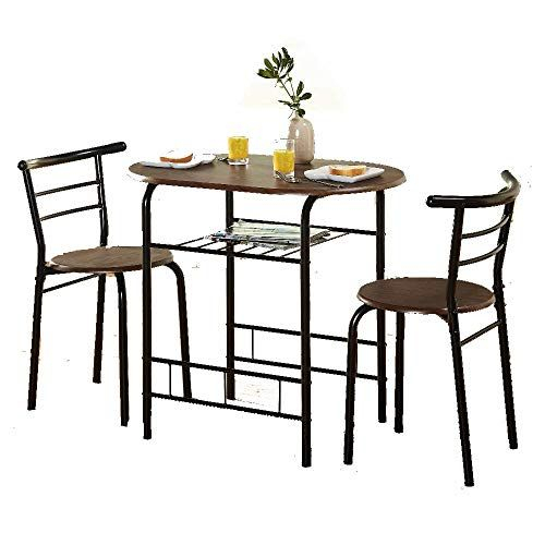 Ats 3 Poece Dining Set Modern Utility Wood Indoor Table Dinner Piece Throughout Conover 5 Piece Dining Sets (View 19 of 25)