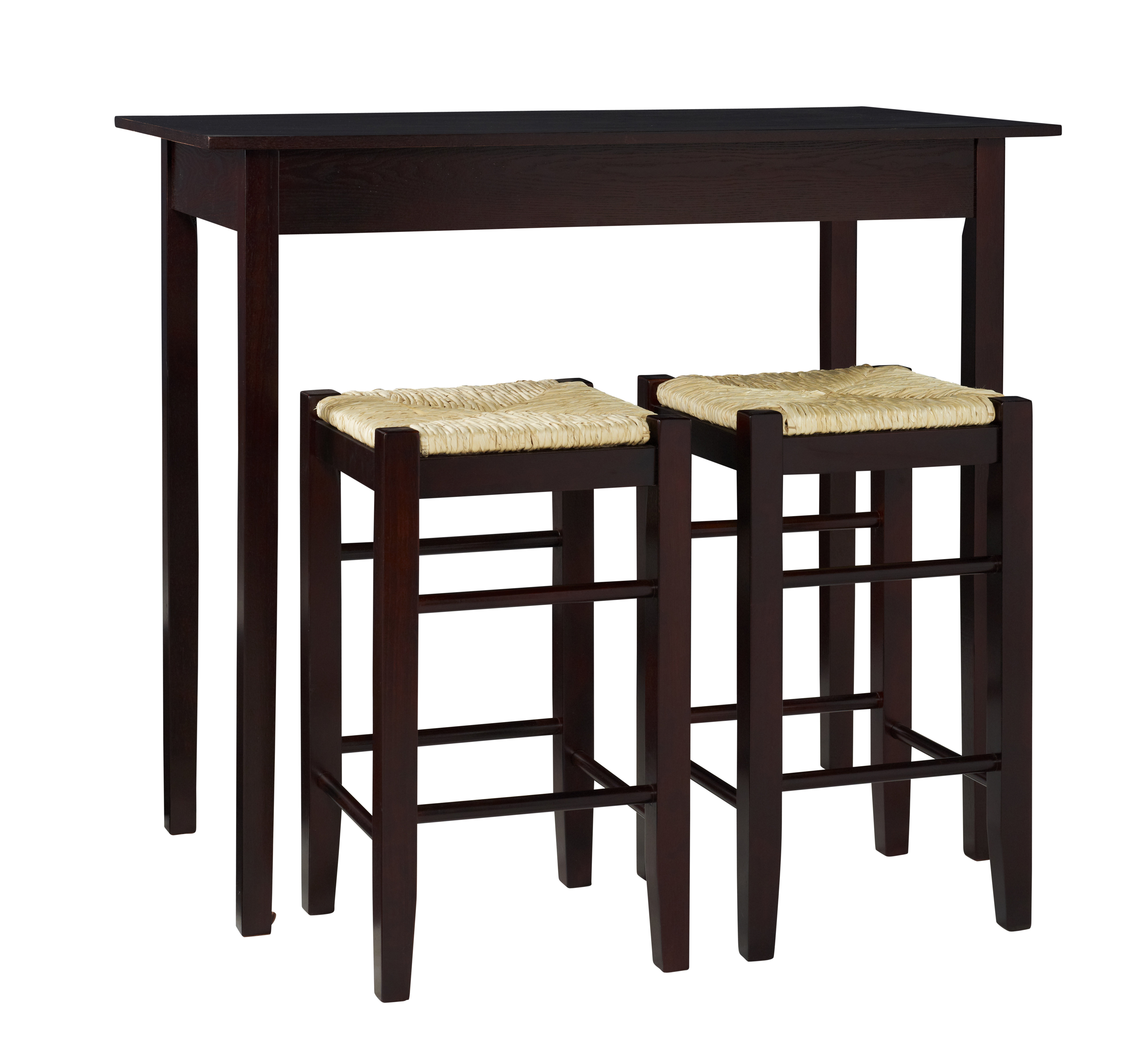 August Grove Tenney 3 Piece Counter Height Dining Set Throughout Tenney 3 Piece Counter Height Dining Sets (Image 9 of 25)