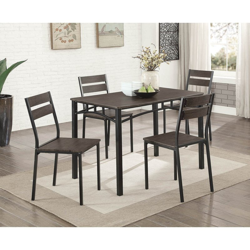 Autberry 5 Piece Dining Set Intended For Autberry 5 Piece Dining Sets (View 1 of 25)