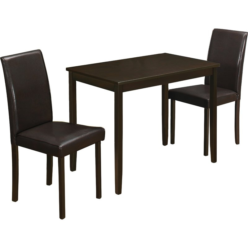 Baillie 3 Piece Dining Set Throughout Baillie 3 Piece Dining Sets (View 3 of 25)