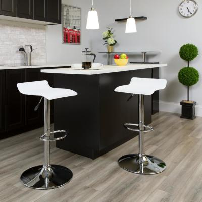 Bar Stools – Kitchen & Dining Room Furniture – The Home Depot Regarding Berrios 3 Piece Counter Height Dining Sets (Image 4 of 25)