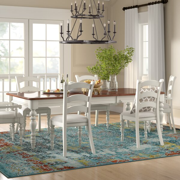 Bargain Giuliano 7 Piece Dining Setbirch Lane™ Heritage Spacial In Goodman 5 Piece Solid Wood Dining Sets (Set Of 5) (View 18 of 25)