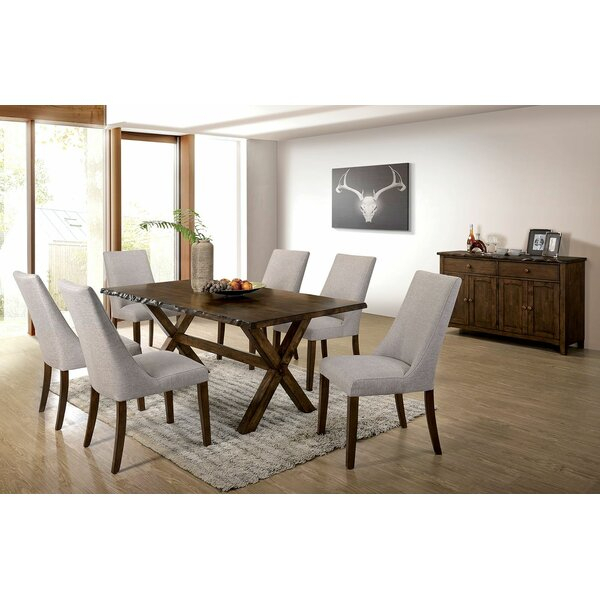 Bargain Vecinas 7 Piece Dining Setgracie Oaks Herry Up | Kitchen Throughout Frida 3 Piece Dining Table Sets (Image 4 of 25)