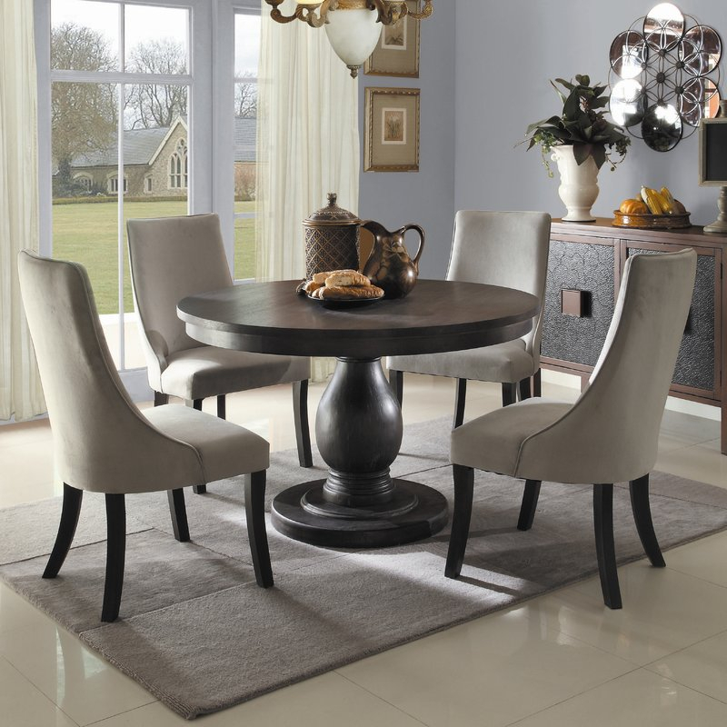 Barrington 5 Piece Dining Set Within 5 Piece Dining Sets (Image 4 of 25)