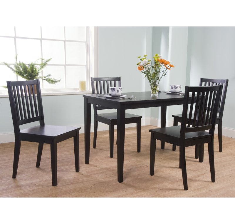 Barryknoll 5 Piece Dining Set Intended For Pattonsburg 5 Piece Dining Sets (Image 5 of 25)