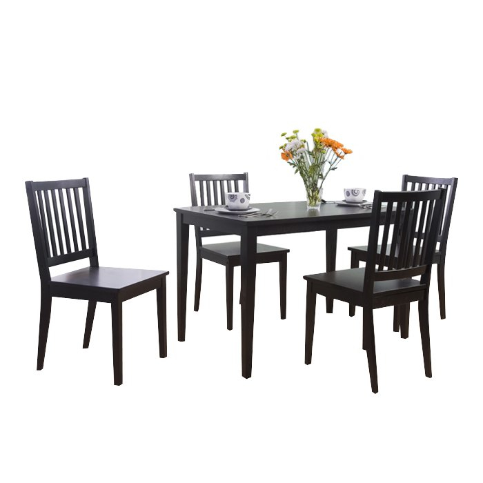 Barryknoll 5 Piece Dining Set Throughout Pattonsburg 5 Piece Dining Sets (Image 6 of 25)