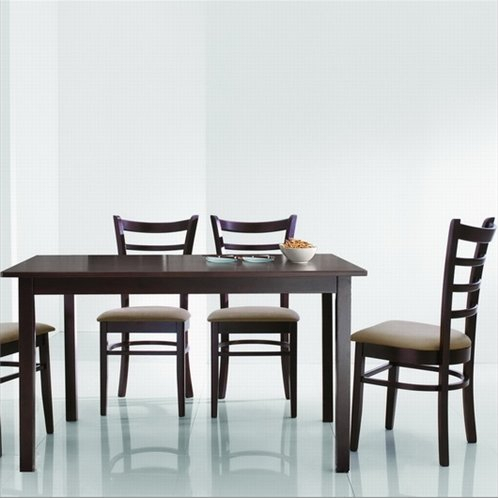 Baxton Studio Keitaro 5 Piece Dining Set for Baxton Studio Keitaro 5 Piece Dining Sets