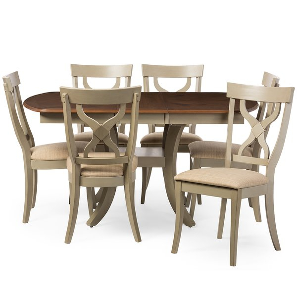 Baxton Studio Table And Chairs | Wayfair In Baxton Studio Keitaro 5 Piece Dining Sets (View 25 of 25)