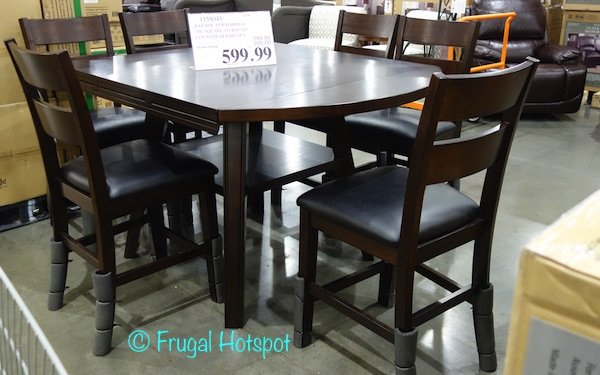 Bayside 7 Piece Dining Set Costco Review | November 2018 Within Noyes 5 Piece Dining Sets (Image 4 of 25)