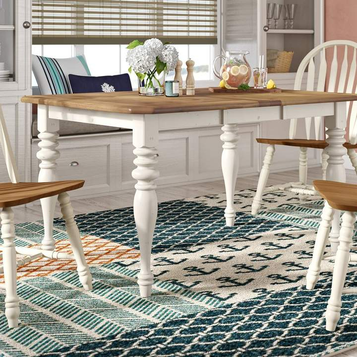 Beachcrest Home Bridgeview Extendable Dining Table In 2019 Regarding Lamotte 5 Piece Dining Sets (View 9 of 25)