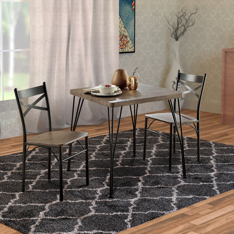 Bedfo 3 Piece Dining Set Throughout Bedfo 3 Piece Dining Sets (View 2 of 25)