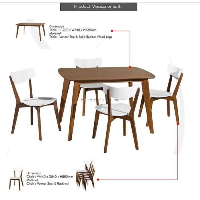 Bedford 1+4 Piece Dining Set In Bedfo 3 Piece Dining Sets (View 19 of 25)