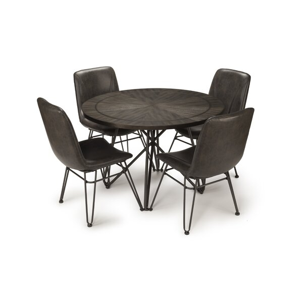 Best #1 Godmanchester 5 Piece Dining Setwilliston Forge Sale Inside Nutter 3 Piece Dining Sets (Image 2 of 25)