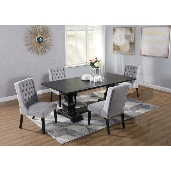 Best #1 Kendra 5 Piece Dining Setdarby Home Co Purchase Pertaining To Springfield 3 Piece Dining Sets (Image 3 of 25)