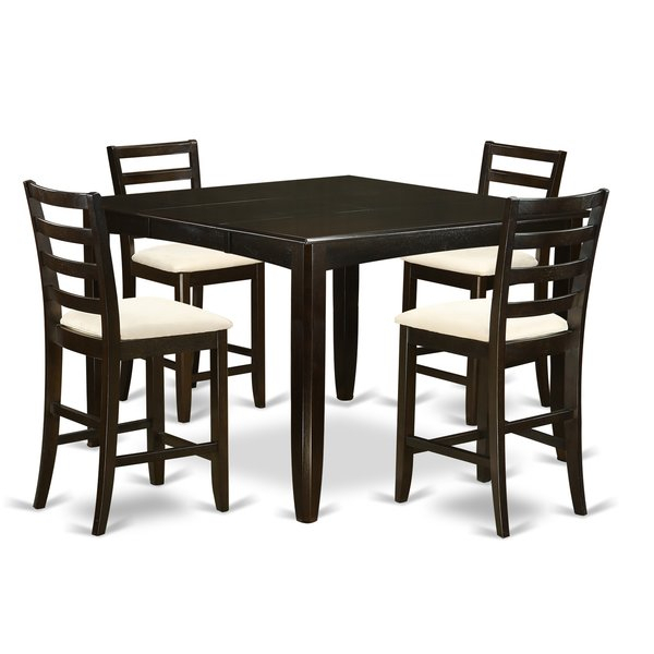Best #1 Krull 5 Piece Counter Height Dining Setred Barrel Studio In Hanska Wooden 5 Piece Counter Height Dining Table Sets (Set Of 5) (Image 5 of 25)