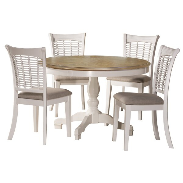 Best #1 Silsden 5 Piece Dining Setred Barrel Studio Discount For Baillie 3 Piece Dining Sets (View 10 of 25)