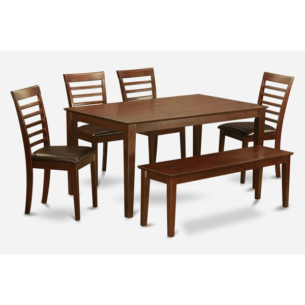 Best #1 Smyrna 6 Piece Dining Setcharlton Home Coupon On| Patio Pertaining To Smyrna 3 Piece Dining Sets (View 13 of 25)