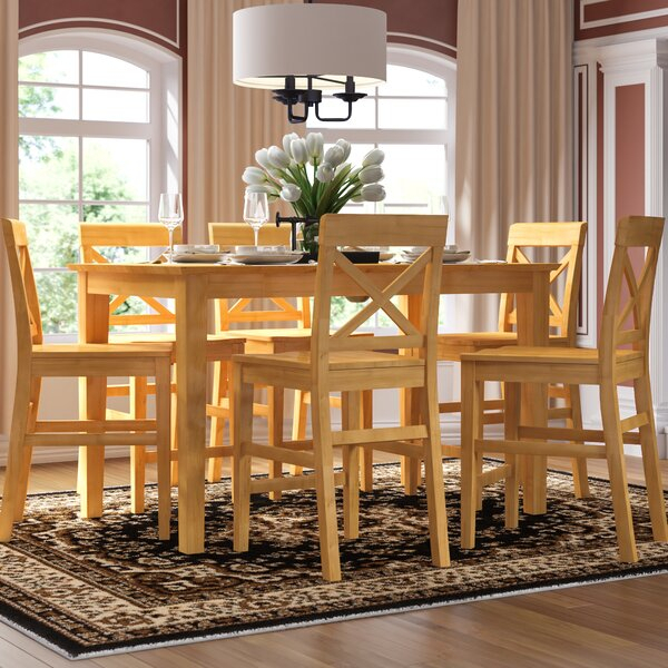 Best Choices Smyrna 7 Piece Counter Height Pub Table Setcharlton Pertaining To Smyrna 3 Piece Dining Sets (View 11 of 25)