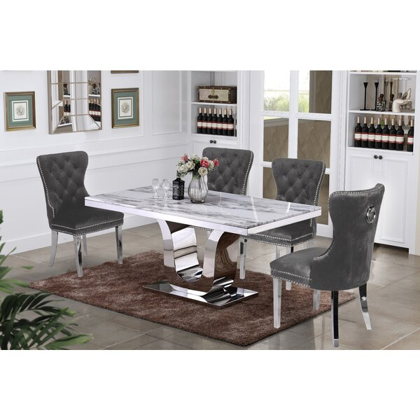Best Design Lockmoor 7 Piece Dining Setred Barrel Studio 2019 Inside Giles 3 Piece Dining Sets (View 18 of 25)