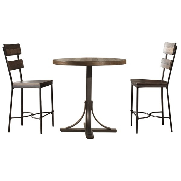 Best Design Putney 3 Piece Counter Height Breakfast Nook Dining Set With Regard To Presson 3 Piece Counter Height Dining Sets (View 12 of 25)