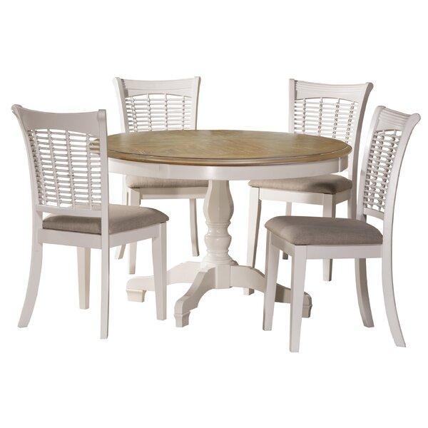Best Design Silsden 5 Piece Dining Setred Barrel Studio Top Within Kaelin 5 Piece Dining Sets (Image 6 of 25)