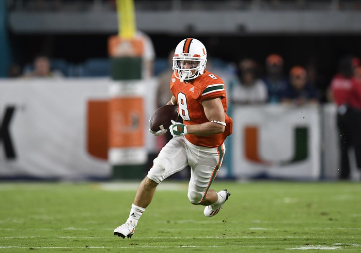 Best Miami Hurricanes Football Player | Braxton Berrios | Sports And In Berrios 3 Piece Counter Height Dining Sets (Image 12 of 25)