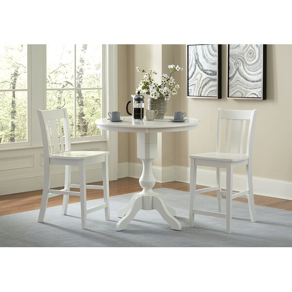 Best Mitzel 3 Piece Dining Setwinston Porter Today Only Sale With Regard To Mitzel 3 Piece Dining Sets (View 14 of 25)