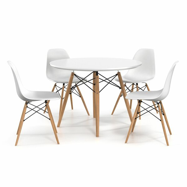 Blake 5 Piece Dining Sethashtag Homehashtag Home Herry Up On In Liles 5 Piece Breakfast Nook Dining Sets (Image 2 of 25)