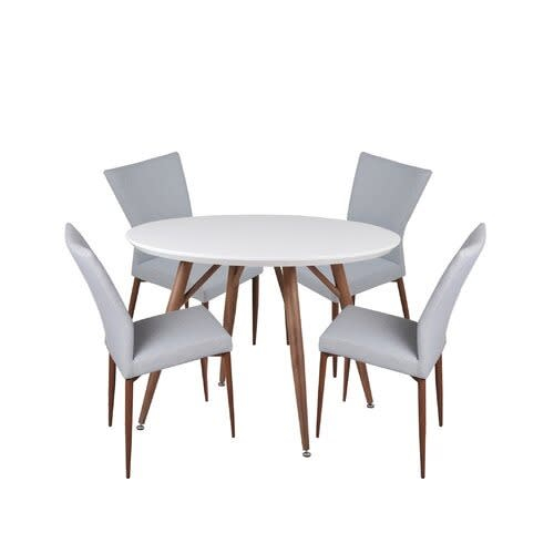Brandyn 5 Piece Breakfast Nook Dining Set With Regard To Mysliwiec 5 Piece Counter Height Breakfast Nook Dining Sets (View 15 of 25)