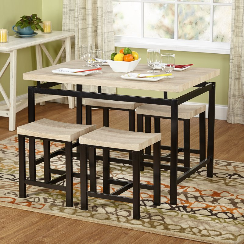 Bryson 5 Piece Dining Set For Tejeda 5 Piece Dining Sets (View 6 of 25)