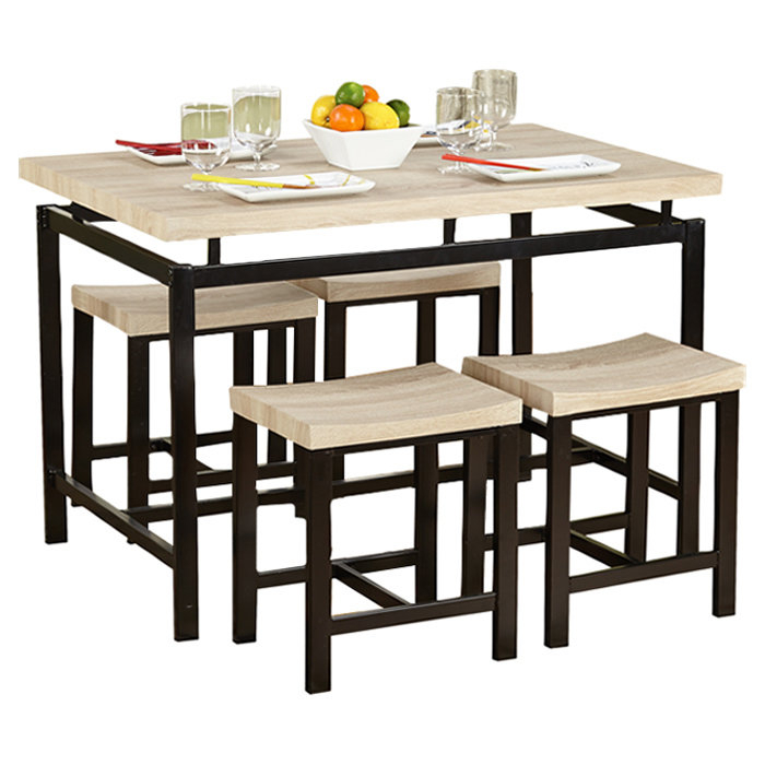 Bryson 5 Piece Dining Set With Bryson 5 Piece Dining Sets (View 2 of 25)