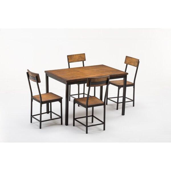 Bushman 5 Piece Dining Set Throughout Travon 5 Piece Dining Sets (View 18 of 25)