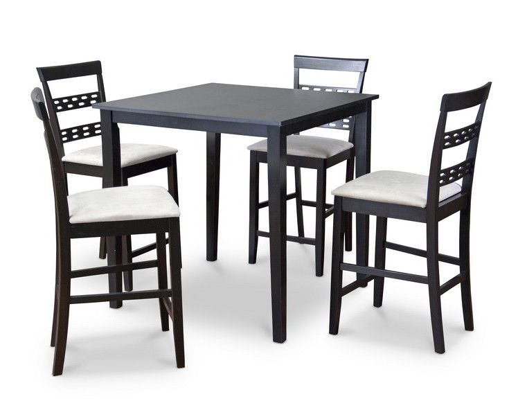 Calla 5 Piece Counter Height Dining Set | Products | Counter Height With Regard To Calla 5 Piece Dining Sets (Image 3 of 25)