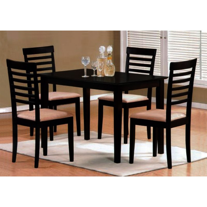 Calla 5 Piece Dining Set Intended For Calla 5 Piece Dining Sets (Image 9 of 25)