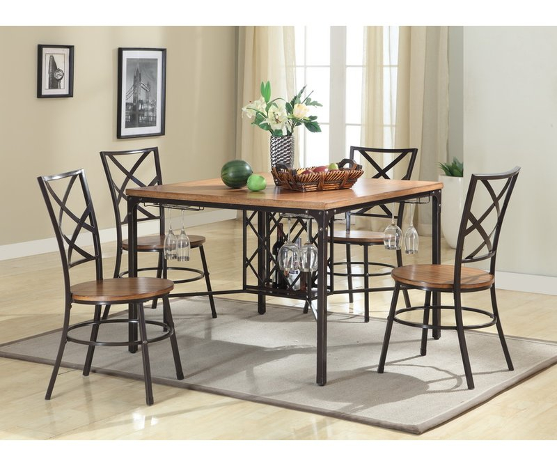 Calla 5 Piece Dining Set Pertaining To Calla 5 Piece Dining Sets (Image 10 of 25)