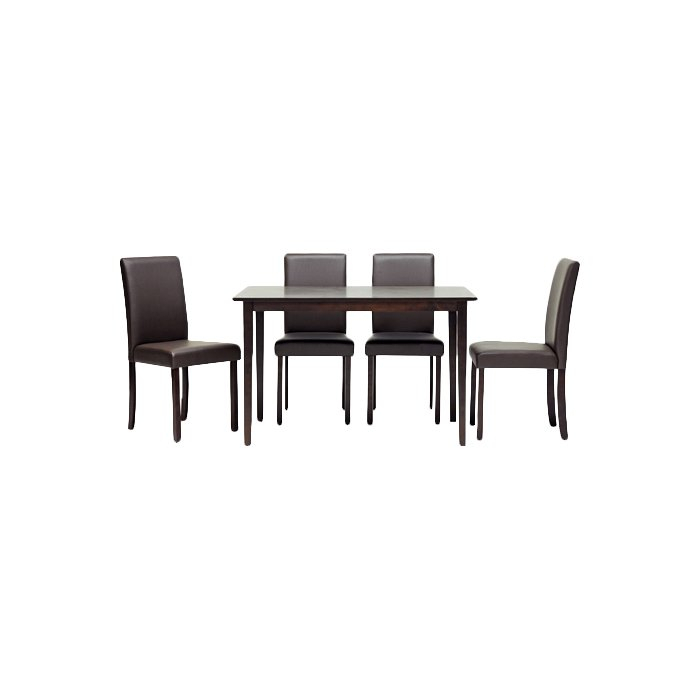 Calla 5 Piece Dining Set Regarding Calla 5 Piece Dining Sets (Image 11 of 25)