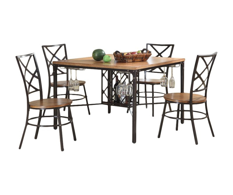 Calla 5 Piece Dining Set With Calla 5 Piece Dining Sets (Image 13 of 25)
