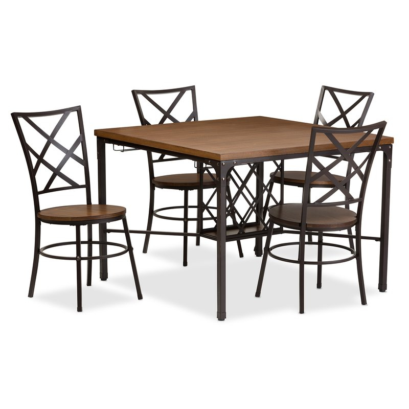 Featured Image of Calla 5 Piece Dining Sets