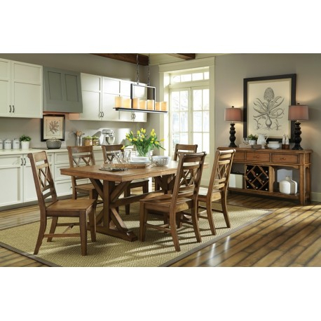 Canyon Dining Collectionjohn Thomas – Cedar Hill Furniture With Regard To John 4 Piece Dining Sets (View 19 of 25)