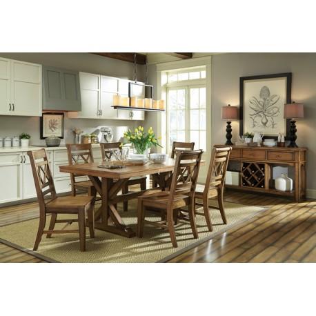 Canyon Dining Collectionjohn Thomas - Cedar Hill Furniture with regard to John 4 Piece Dining Sets