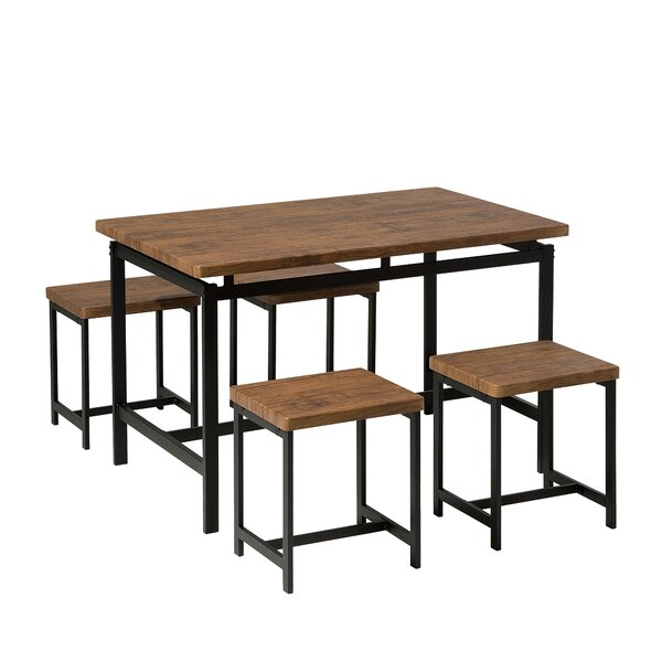Cargo 5 Piece Dining Set Intended For Cargo 5 Piece Dining Sets (Image 6 of 25)