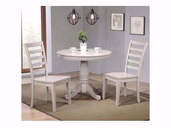 Carmel 3 Piece Dining Room Set With 3 Piece Dining Sets (View 10 of 25)