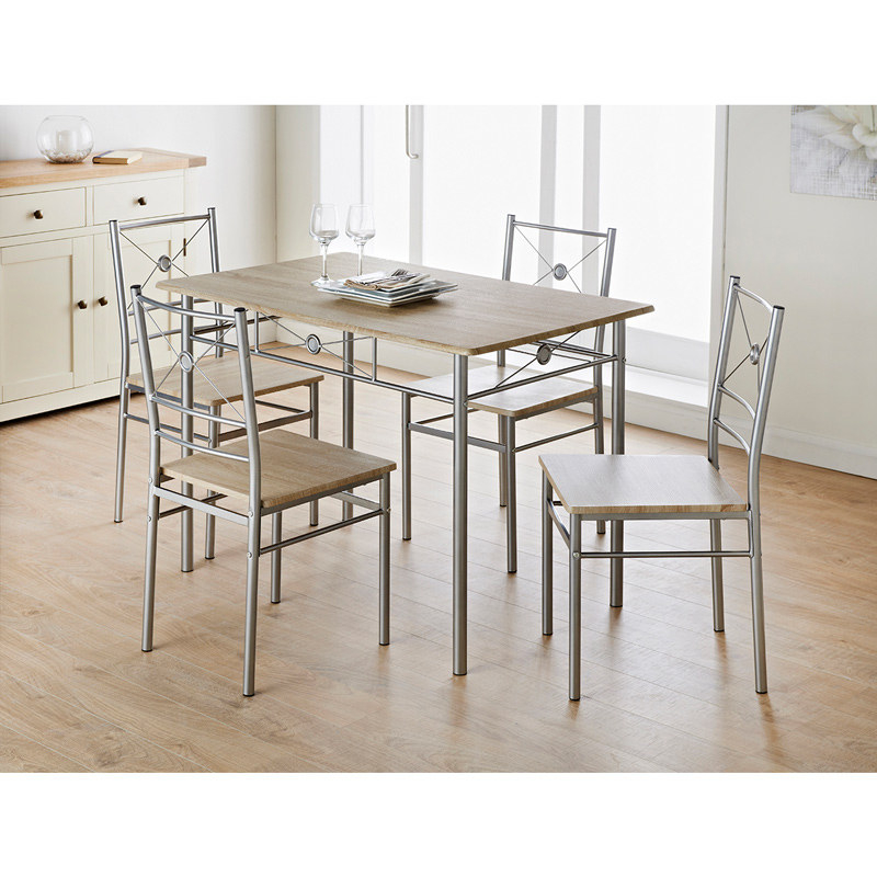 Carolina 5 Piece Dining Set With 5 Piece Dining Sets (View 11 of 25)
