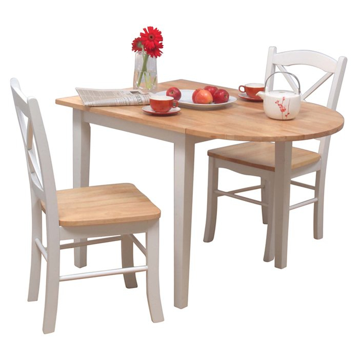 Castellon 3 Piece Dining Set For 3 Piece Dining Sets (View 5 of 25)