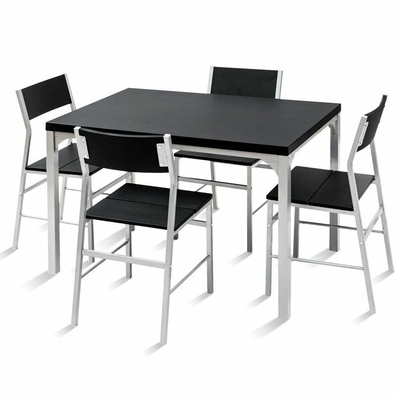 Catalina 5 Piece Dining Set In Stouferberg 5 Piece Dining Sets (View 15 of 25)