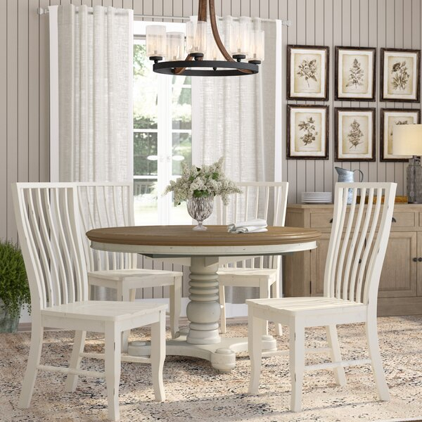 Cheap Eloy 5 Piece Dining Setdarby Home Co Purchase | Kitchen For Wiggs 5 Piece Dining Sets (View 11 of 25)
