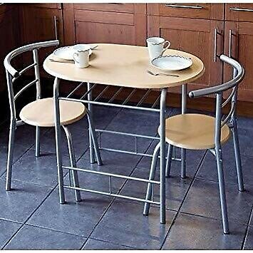 Compact 3 Piece Dining Table And Chairs Breakfast, Kitchen, Bistro   In Sutton, London   Gumtree Intended For Lonon 3 Piece Dining Sets (View 3 of 25)