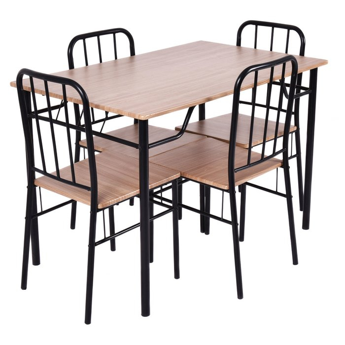 Conover 5 Piece Dining Set In Conover 5 Piece Dining Sets (View 3 of 25)