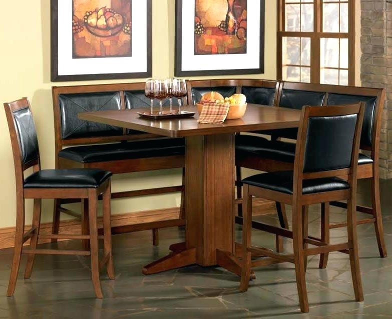 Counter Height Breakfast Nook – Ially (View 7 of 25)